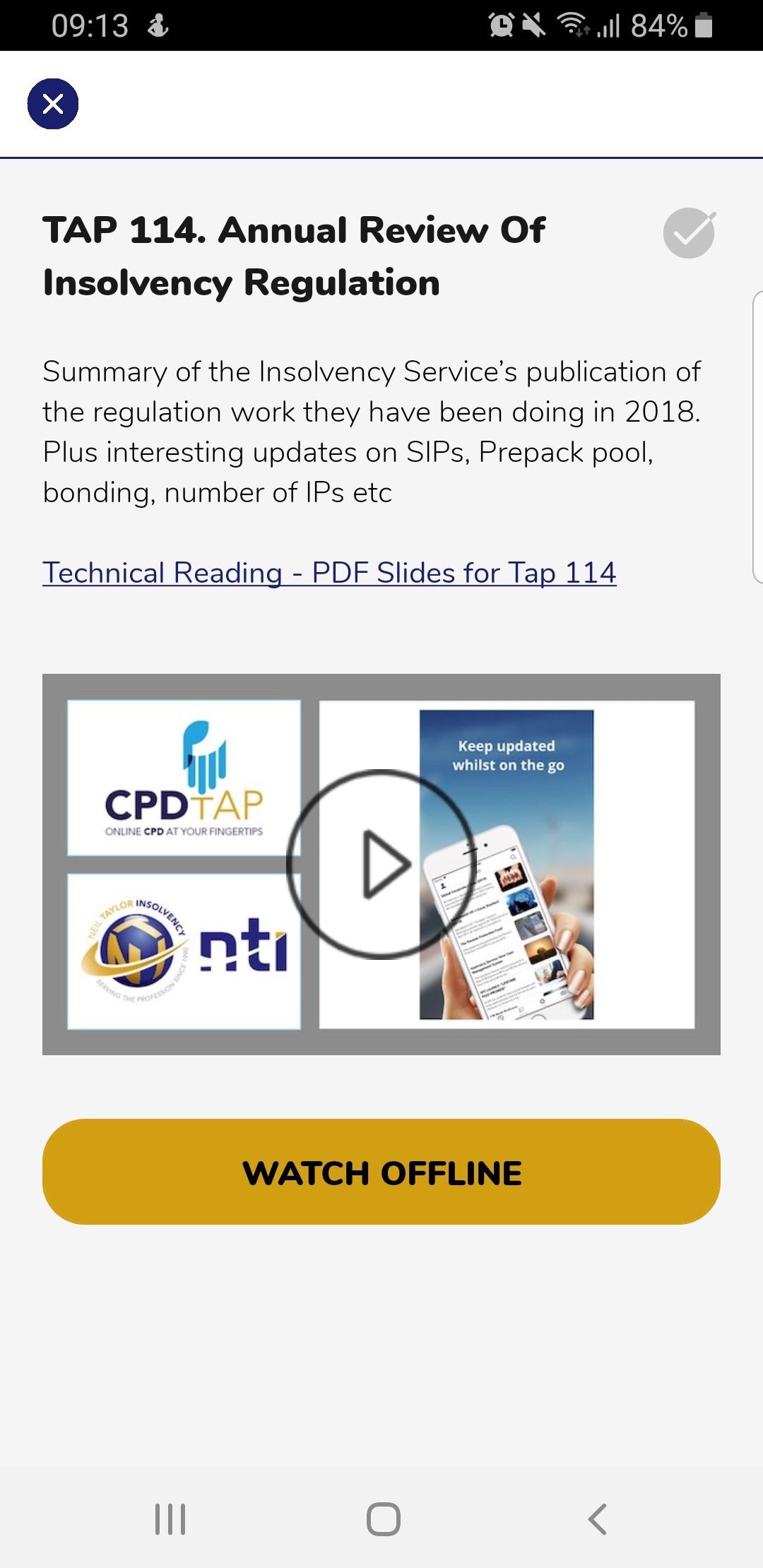 NTI App